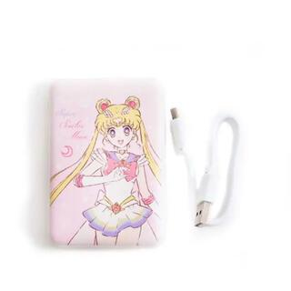 スリーコインズ(3COINS)のセーラームーン☆3coinsコラボ モバイルバッテリー(バッテリー/充電器)