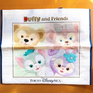 ディズニー(Disney)の【ディズニー】ダッフィーアンドフレンズ ショッピングバッグ (キャラクターグッズ)
