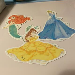 ディズニー(Disney)のプリンセス ウォールステッカー(キャラクターグッズ)