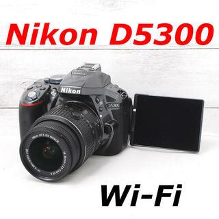 ニコン(Nikon)の❤️希少グレーカラー❤️Wi-Fi搭載❤️Nikon D5300(デジタル一眼)