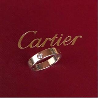 Cartier - カルティエリング ダイヤ ピンクゴールド✨美品✨ 14