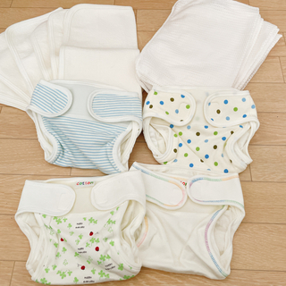 Nishiki Baby - 【最終値下げ】布おむつセット サイズ50