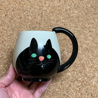 【新品未使用】ネコ マグカップ