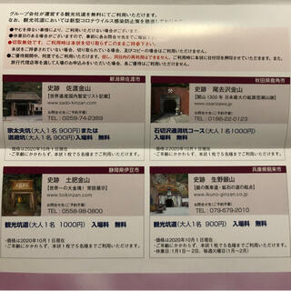 三菱マテリアル 優待 佐渡金山・土肥金山・尾去沢鉱山・生野銀山