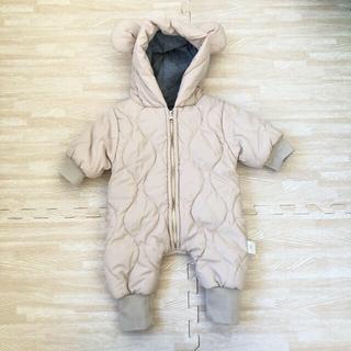 プティマイン(petit main)の韓国子供服 クマさんカバーオール ベビー(カバーオール)