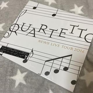 ニュース(NEWS)の☆★NEWS LIVE TOUR 2016 QUARTETTO 初回盤DVD★☆(ミュージック)