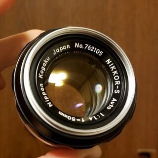 ニコン(Nikon)のNikkor 50mm F1.4 非AI(レンズ(単焦点))