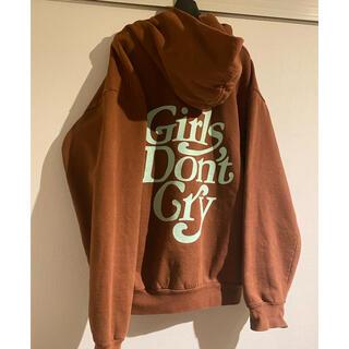 GDC - 【オンライン限定】girls don't cry パーカー Lサイズ verdy