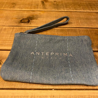 ANTEPRIMA - アンテプリマ 付録 デニム ポーチ  アンテプリマミスト