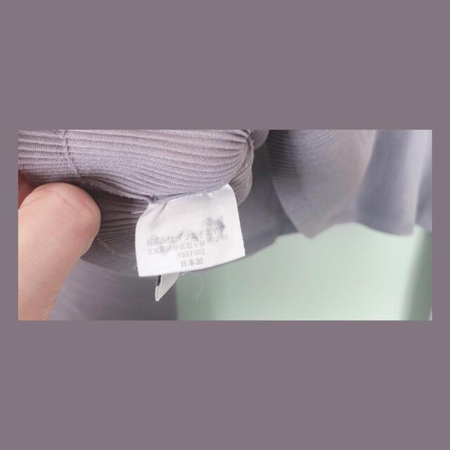 ISSEY MIYAKE(イッセイミヤケ)のイッセイミヤケショート丈ハイネック レディースのトップス(カットソー(長袖/七分))の商品写真
