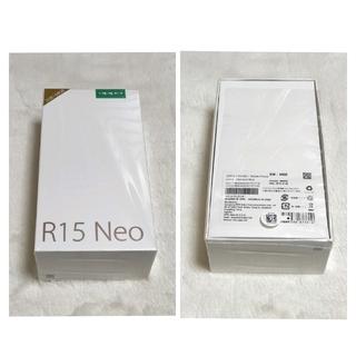 タイトー(TAITO)のOPPO R15 Neo(スマートフォン本体)