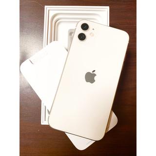 Apple - 即購入大歓迎‼️iPhone11 ホワイト 64GB SIMフリー