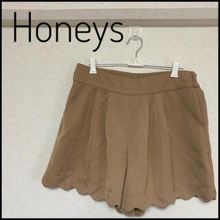ハニーズ(HONEYS)の【Honeys】ショートパンツ(ベージュ、キャメル)(ショートパンツ)