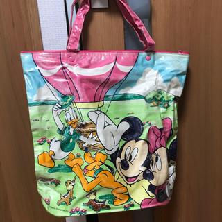 ディズニー(Disney)のレトロ 当時ものディズニービニールトートバッグ(トートバッグ)