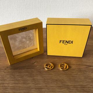 フェンディ(FENDI)のFENDI フェンディ ピアス ゴールド★値下げ(ピアス)