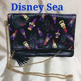 Disney - ディズニーシー 2016 ハロウィン クラッチ ショルダーバッグ 2way 美品