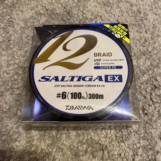 ダイワ(DAIWA)のソルティガ 12ブレイドEX 6号 300m PEライン マグロ ツナ ヒラマサ(釣り糸/ライン)