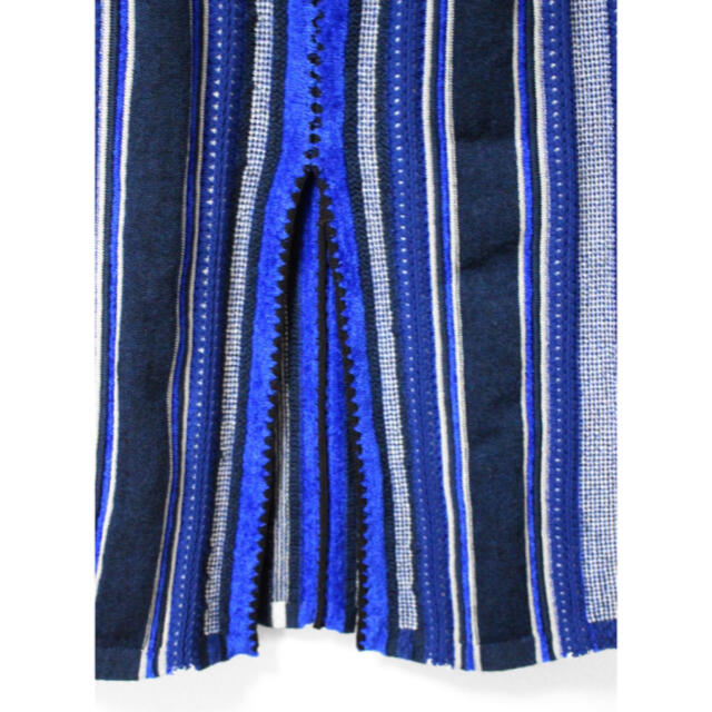 mame(マメ)の●mame kurogouchi ハマグリ ジャガード ストライプ スカート レディースのスカート(ひざ丈スカート)の商品写真