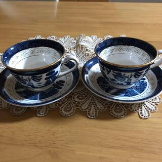 ニッコー(NIKKO)のNIKKOコーヒーカップ2脚セット(グラス/カップ)
