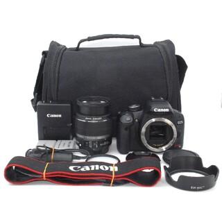 Canon - バッテリー2個・カメラバック付き♪Canon Kiss X3 レンズキット