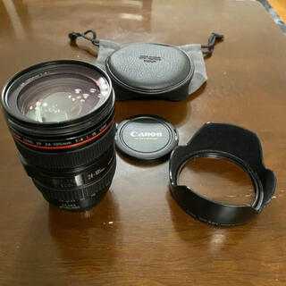 Canon - Canon EF 24-105mm F4 L IS USM フード、ポーチ付き