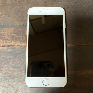 アイフォーン(iPhone)のiPhone8 256GB ピンクゴールド SIMロック解除済み(スマートフォン本体)
