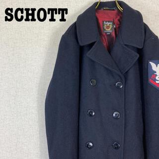 ショット(schott)のSCHOTT ショット Pコート ショート丈 カナダ製 メルトンコート(ピーコート)