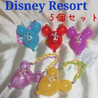 ディズニー(Disney)のディズニーリゾート 30周年 ミッキー バルーン スナックケース 5点セット(キャラクターグッズ)