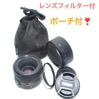 ニコン(Nikon)のNIKON AF-S NIKKOR 50mm f/1.8G ニコン 単焦点(レンズ(単焦点))