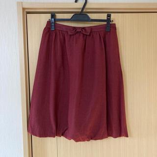 アクアガール(aquagirl)のアクアガールsaintmartique ウエストリボンバルーンスカート(ひざ丈スカート)