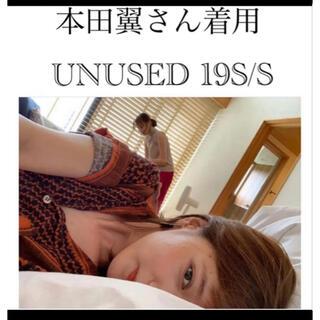 UNUSED - 【本田翼さん着用】UNUSED アンユーズド シャツ アフガン