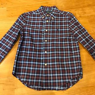 ラルフローレン(Ralph Lauren)のラルフローレン ダーク系チェックシャツ(ブラウス)