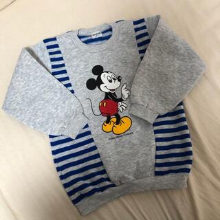 ディズニー(Disney)の【USED】ミッキートレーナー(ニット)