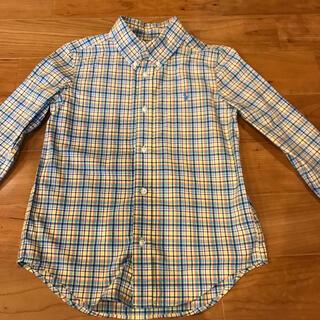 ラルフローレン(Ralph Lauren)のラルフローレン イエロー系チェックシャツ(ブラウス)