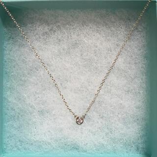 Tiffany & Co. - ティファニーエルサ・ペレッティダイヤモンドバイザヤードペンダント