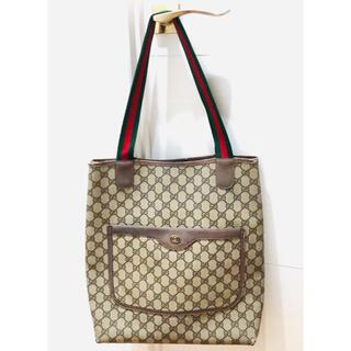 グッチ(Gucci)の【GUCCI】オールドグッチ トートバッグ GG柄 ショルダー グッチ 鞄(トートバッグ)