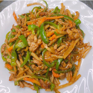無添加 青椒肉絲 美味しい 調理方法簡単(野菜)