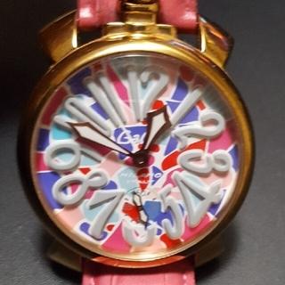 ガガミラノ(GaGa MILANO)の【最終値下げ】GaGa MILANO 48mm 手巻き 稼働品(腕時計(アナログ))