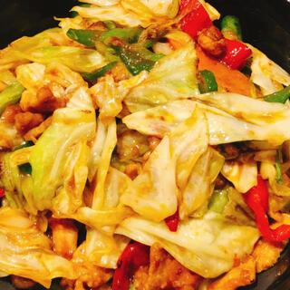 無添加 回鍋肉(ホイコーロ) 調理方法 美味しい(野菜)