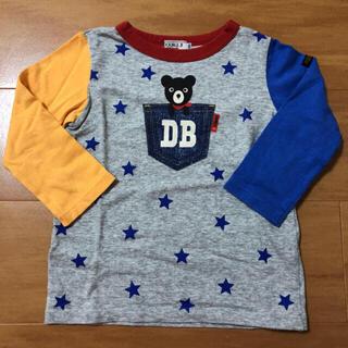 ダブルビー(DOUBLE.B)のミキハウス ダブルビー ポケットB君 ロンT 長袖 100(Tシャツ/カットソー)