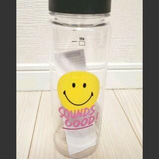 【新品未使用】ニコちゃん SOUNDS GOOD クリアボトル(タンブラー)