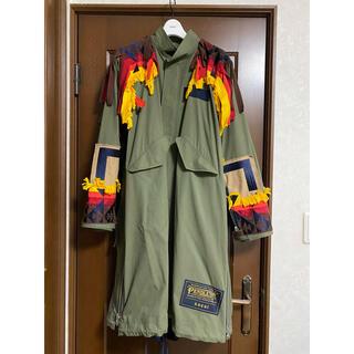 サカイ(sacai)のsacai Pendleton 19SS モッズコート kolor toga(モッズコート)