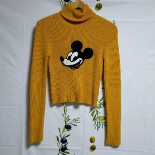 ディズニー(Disney)のディズニー × FOREVER21 コラボ ミッキーマウス ニットセーター M(ニット/セーター)