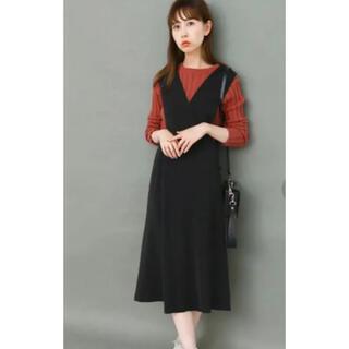 KBF - KBF 変形 ジャンバースカート 黒 ブラック