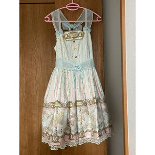 Angelic Pretty - Day dream carnival jsk.カチューシャ.お袖とめ