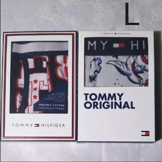トミーヒルフィガー(TOMMY HILFIGER)のトミーヒルフィガー ボクサーパンツ 2枚 L(EUサイズ)(ボクサーパンツ)