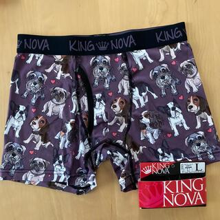 KING NOVA  前開き  犬 わんちゃん ボクサーパンツ   L(ボクサーパンツ)
