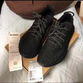 アディダス(adidas)のyeezy boost 350 pirate black (専用にしています)(スニーカー)
