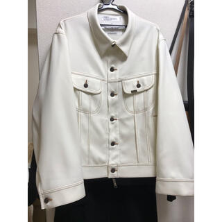 サンシー(SUNSEA)のDAIRIKU  regular polyester jacket  20ss(ブルゾン)