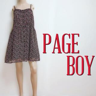 ページボーイ(PAGEBOY)のゆるかわ♪ページボーイ スウィートカジュアルワンピース♡ダズリン リエンダ(ミニワンピース)